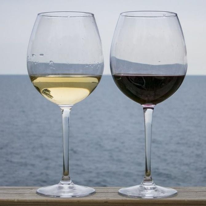 Las copas de vino