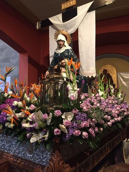 Flores en Semana Santa