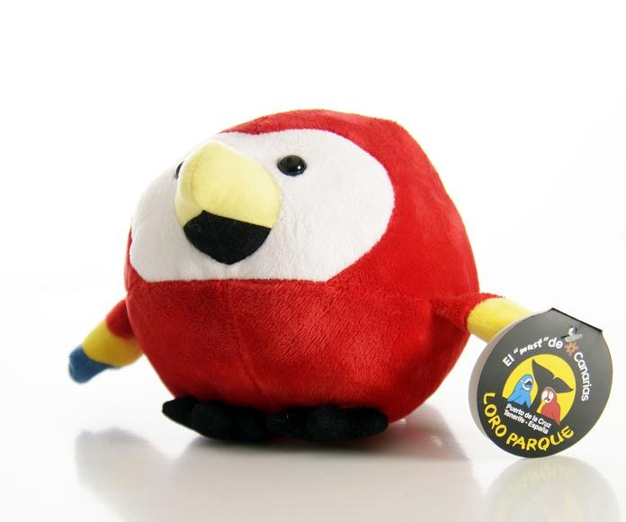 Pelota Loro Rojo: Productos de BELLA TRADICION