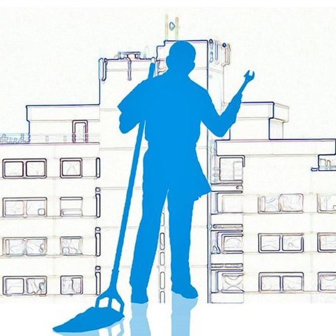 ¿Cómo se hace la limpieza en oficinas?
