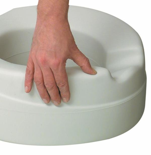 Elevador de WC con asiento blando SOFT