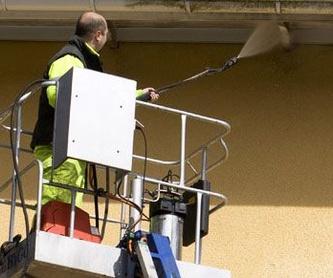 Limpieza de fachadas: Servicios de Multiservicios Maldonado