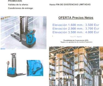 VENTA Y COLACIÓN RUEDAS PARA CARRETILLAS: Maquinaria de ocasión de Carretillas Elevadoras A.L.A., S.L.