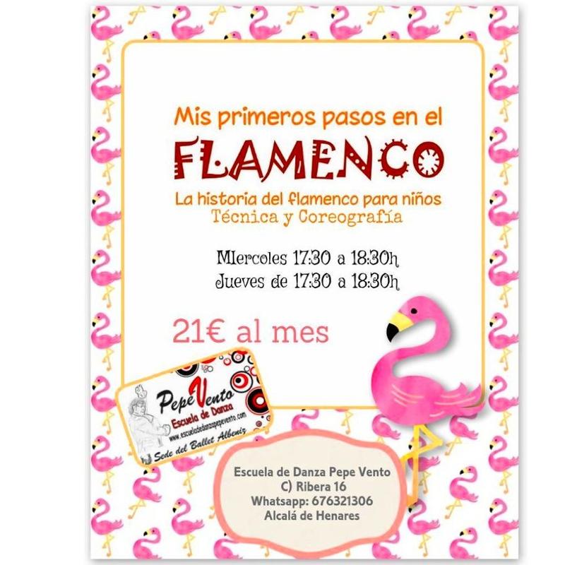 Flamenco Infantil: Clases de Escuela de Danza Pepe Vento