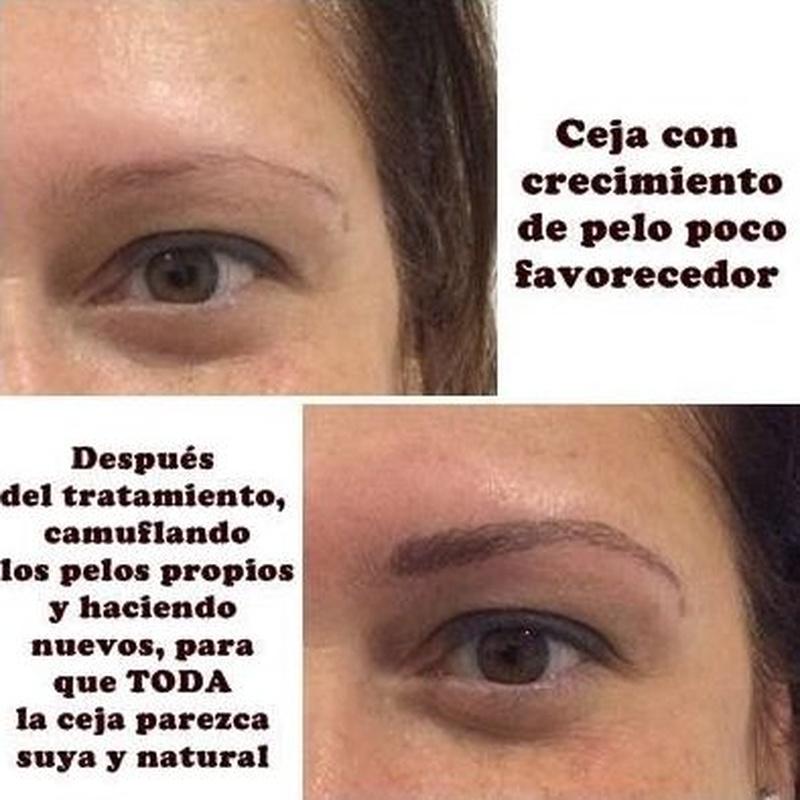 Micropigmentación de cejas: Servicios de Divinity Body Nails