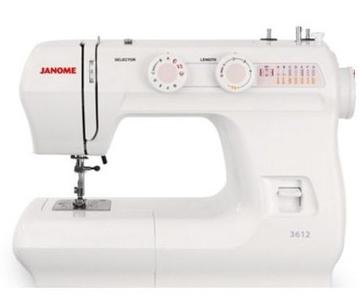 Máquina de coser mecánica Janome 3612