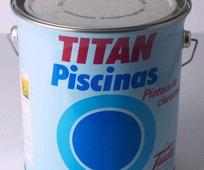Piscinas clorocaucho Titan