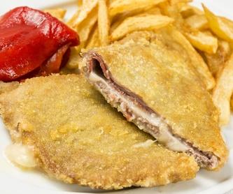 Jornadas Gastronómicas de la Fabada: Carta y menús de Sidrería El Escalón