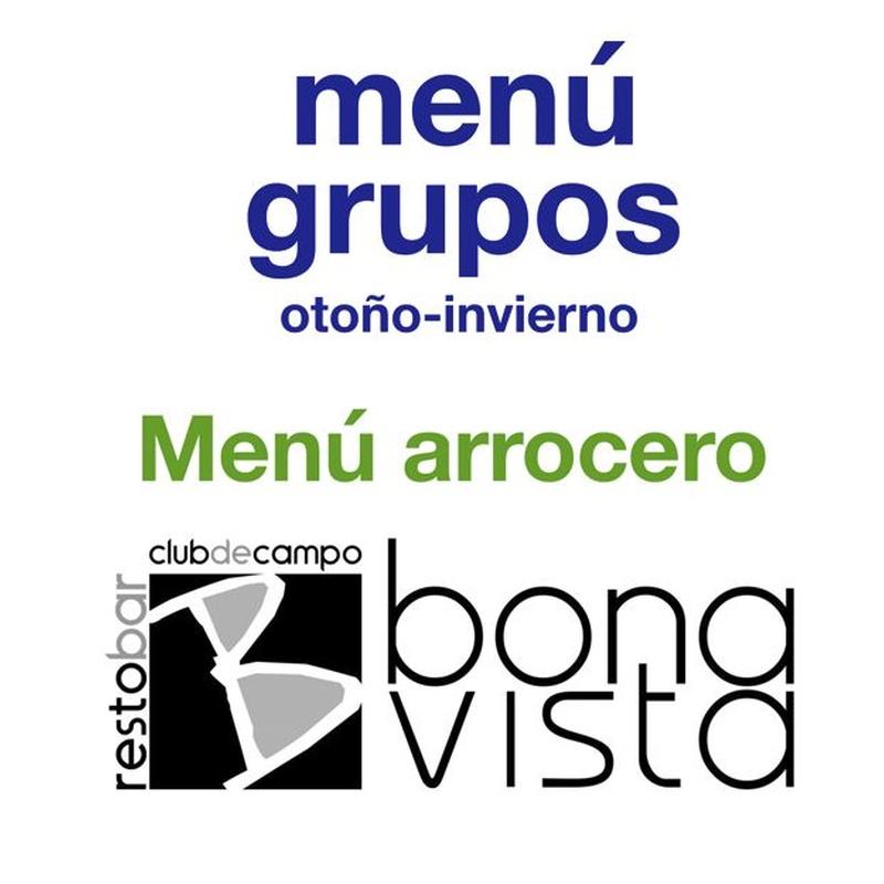 Menú Arrocero: Carta y Menús de Restaurante Bonavista