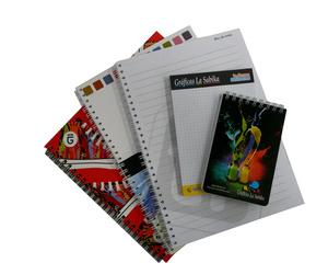 Libretas, cuadernos, block