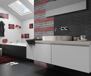 Rojo, negro y blanco