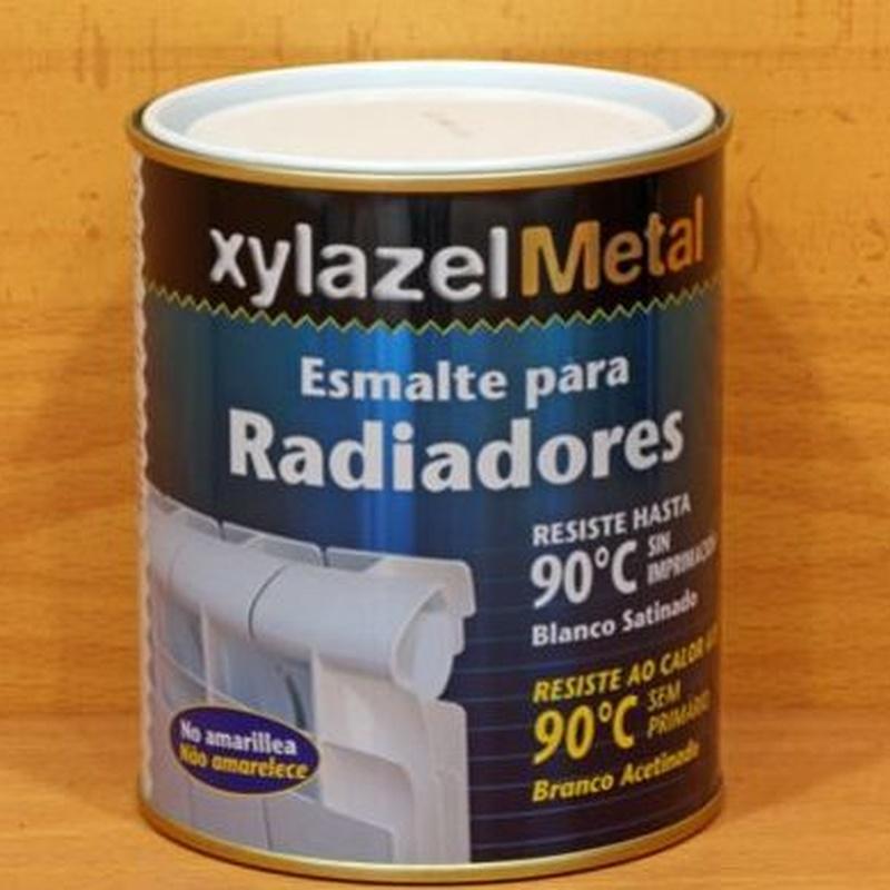 Xylazel esmalte radiadores: Productos de Ferretería Baudilio