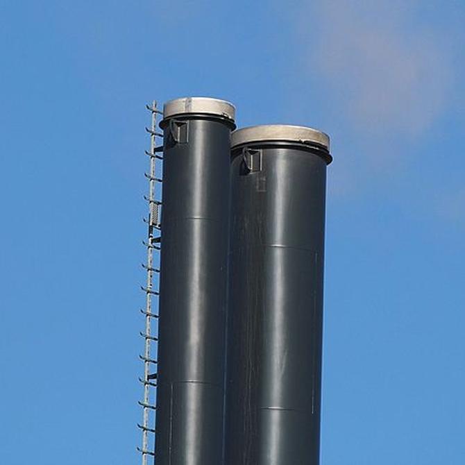 Requisitos de las salidas de humos