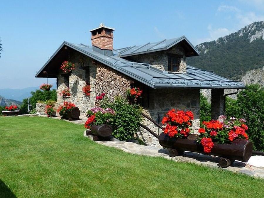 El revestimiento con piedra en fachadas
