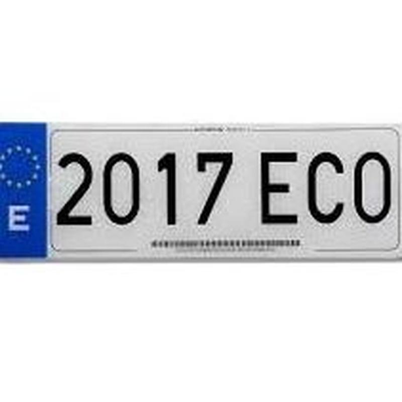Matrícula de coche: Productos de Zapatería Ideal