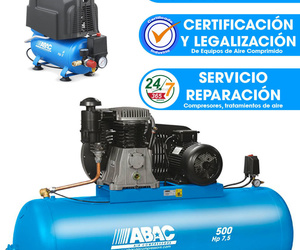 Reparación y mantenimiento de compresores