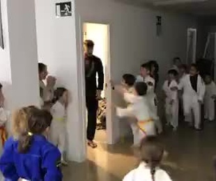 Jiu jitsu infantil.  BJJ KIDS