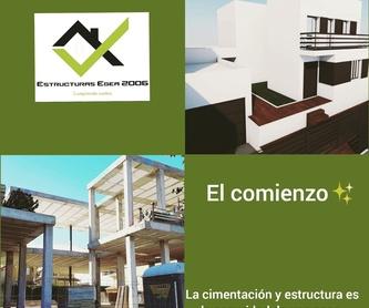 Diseño y construcción de viviendas: Servicios  de Estructuras Egea