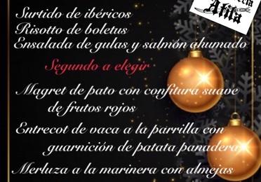 Menú de Reyes