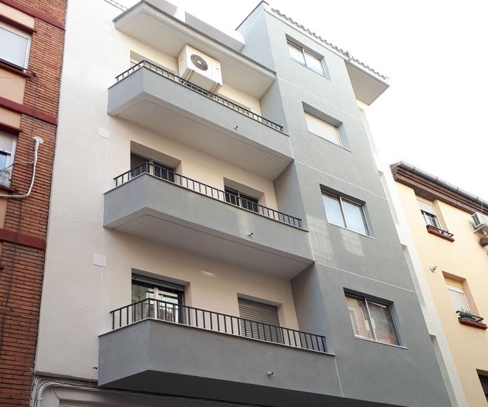 Revestimiento de fachadas SATE: Servicios de Soluciones Verticales Zaragoza