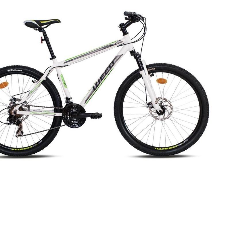 BICICLETA WEED 27.5 STACK 1.0 BLANCA/VERDE:  de E-Bike Guadarrama