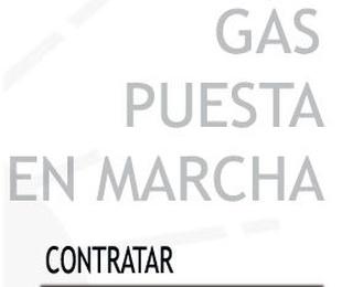 Contrato de Gas puesta en marcha