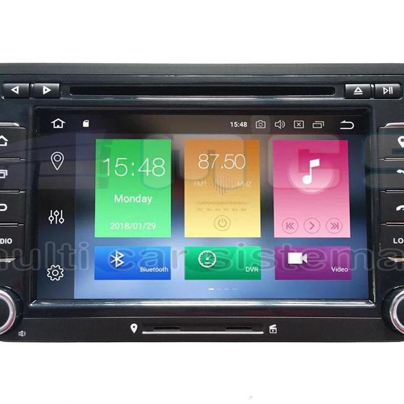RADIO GPS PANTALLA TACTIL ANDROID VOLKSWAGEN VW GOLF PASSAT SCIROCCO EOS CC