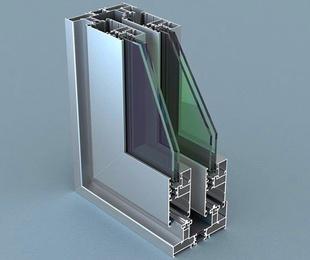 Ventanas de aluminio sin rotura de puente térmico