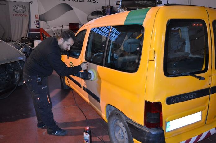 Chapa y pintura: Nuestros servicios de Safety Car