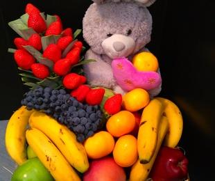 Cestas de Frutas y detalles para regalar