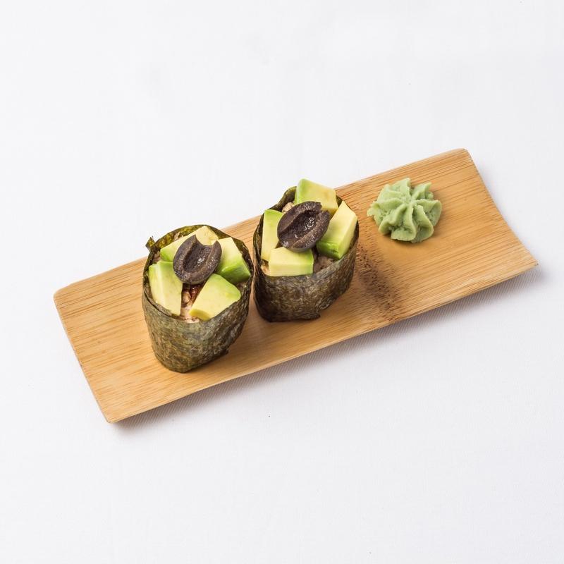 Gunkan de atún cocido: Carta de Restaurante Sowu