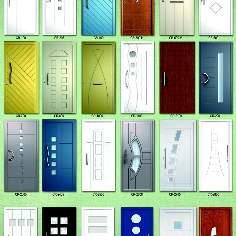 Paneles serie Creativa para puertas de PVC