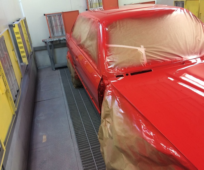 Reparaciones de pintura: Servicios de RC Automóviles