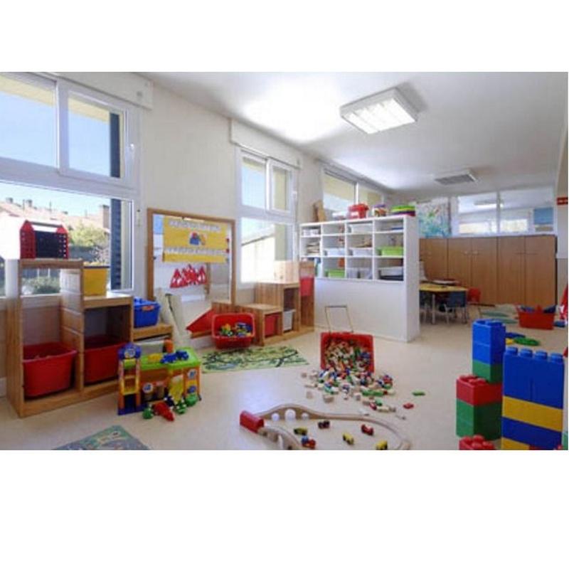 Organización del aula por áreas: grupos pequeños: Servicios de La Escuelita del Encinar