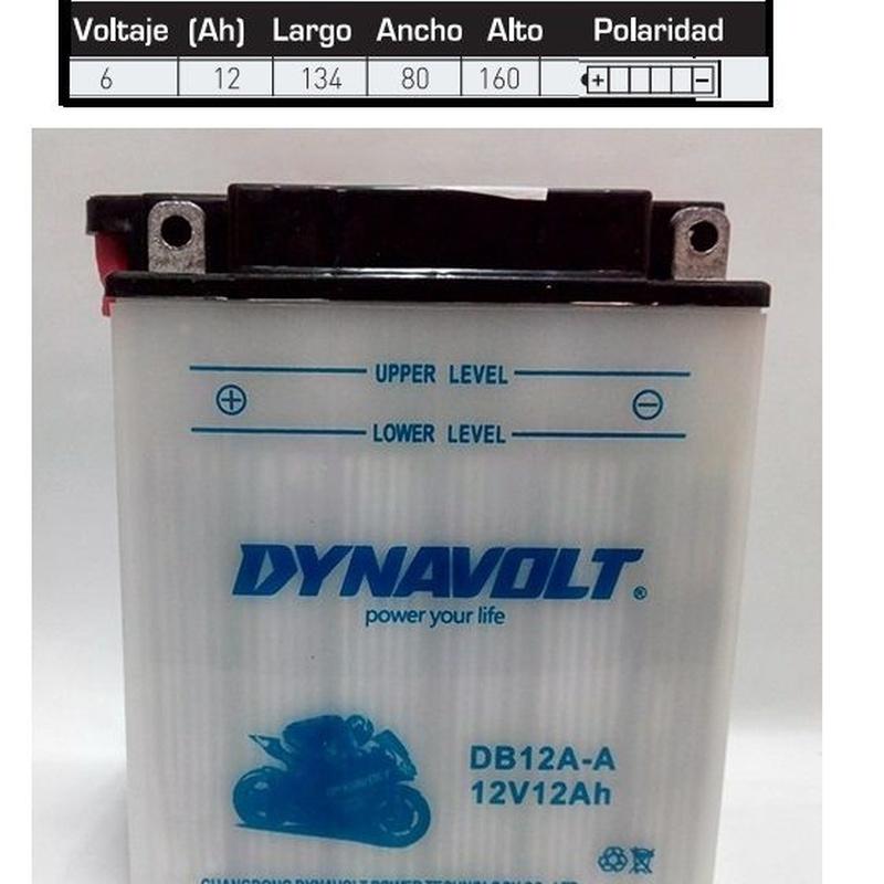Baterías: Catálogo de Anca, S.L.