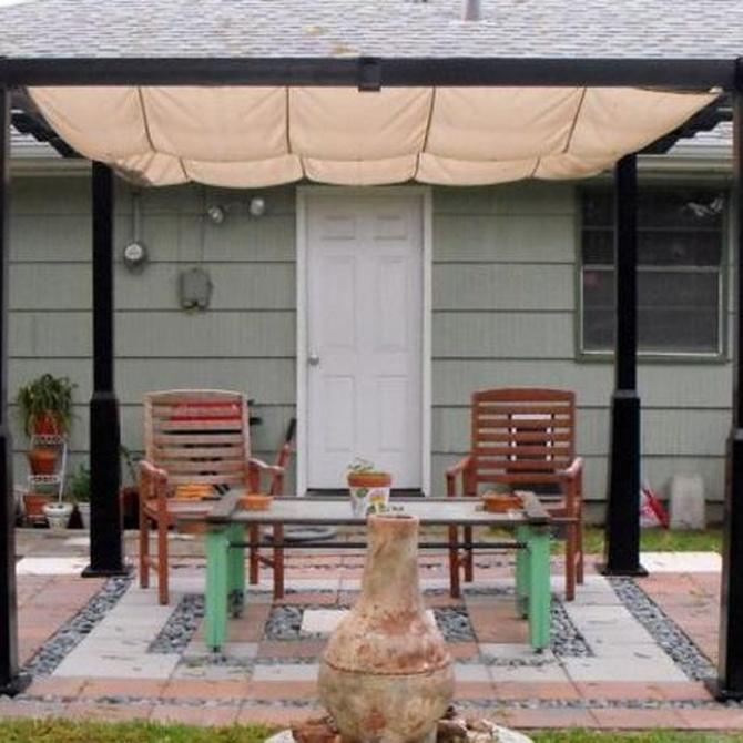 Tipos de cubiertas para nuestro jardín o terraza
