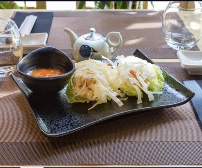 Entrantes: Especialidades de Restaurante Isami