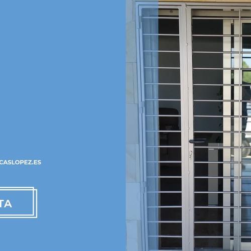 Rejas de ballesta Murcia | Puertas Metálicas López, S.L.