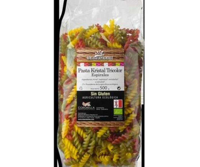 PASTA DE ARROZ CON QUINOA, macarron, espagueti, espiral y fideos, OLEANDER: Catálogo de La Despensa Ecológica
