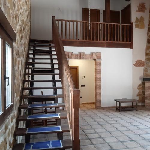 Fabricación de escalera de interior de madera