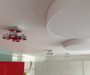 Instalación de luces en Pamplona