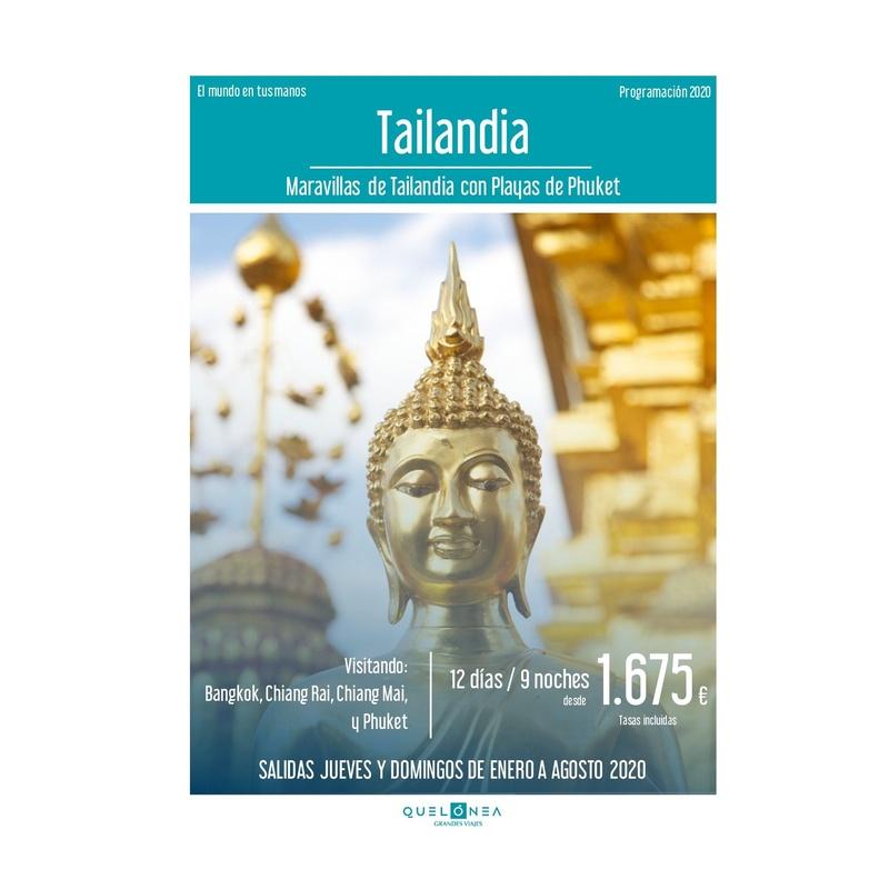 Tailandia. Programación 2020: Contrata tu viaje de Viajes Iberplaya