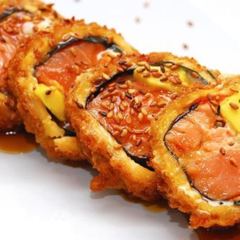 Sushi Rolls tempurizados sin arroz: Carta de Fujiyama Sushi Bar & Asian Cuisine