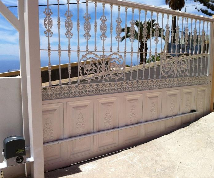 Puertas correderas en Tenerife: Servicios de Puertas Automáticas Tomás del Toro