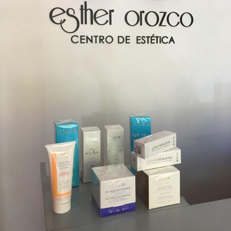 Venta de cosméticos: Ofertas y Tratamientos de Esther Orozco Estética Personalizada
