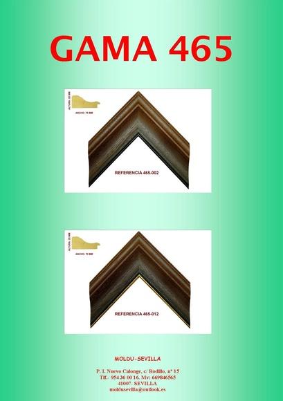 GAMA 465: Muestrario de Moldusevilla