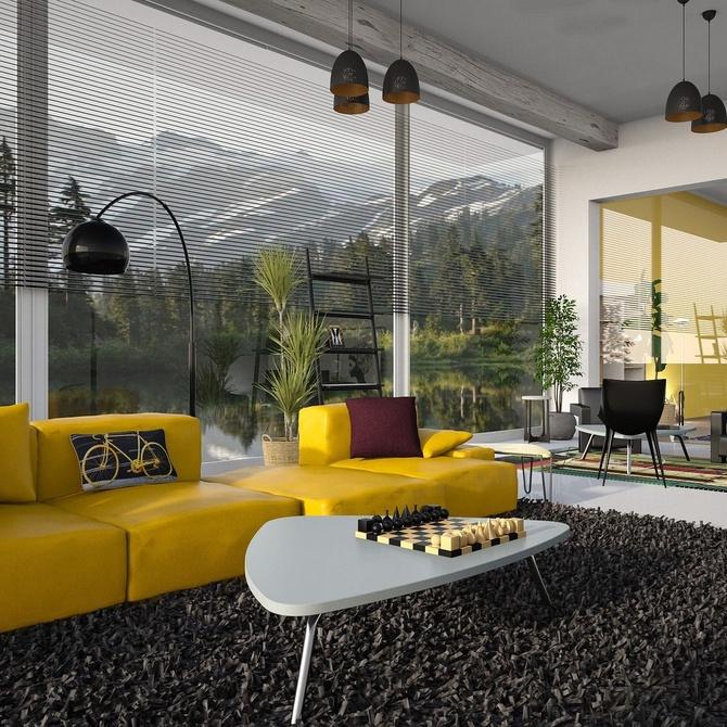 Las diferentes texturas en las alfombras