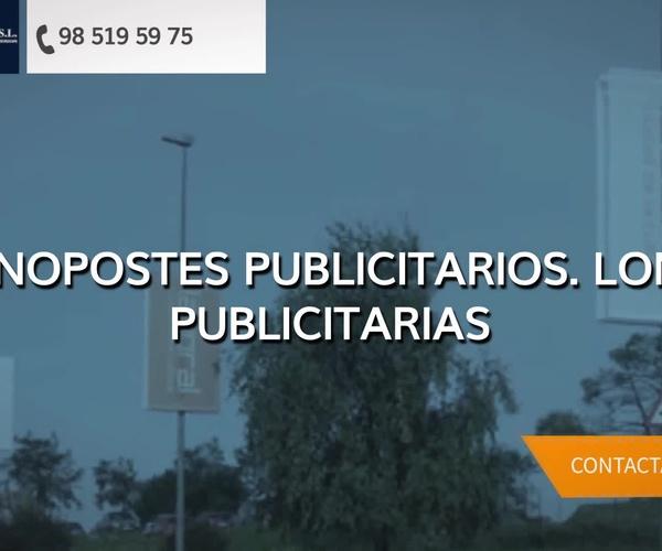 Carteles publicitarios en Asturias: Jf Exterior, S.L.