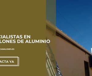 Canalones de aluminio en Alicante | Vicente Canalones