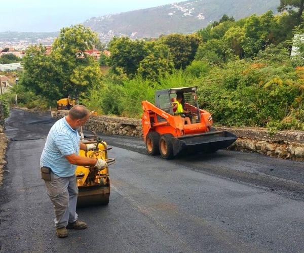 Pavimentos asfálticos Tenerife Norte